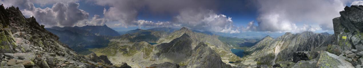 Panorama Kozi Wierch - Tatry
