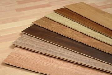 Wood flooring swatches