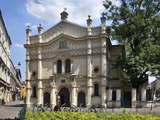 Synagogue in Kazimierz. Krakow. Poland