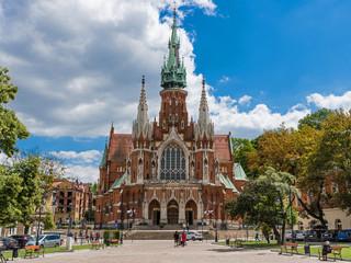 Kraków - Kościół św. Józefa w dzielnicy Podgórze