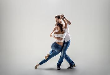 para tańczy towarzyski taniec