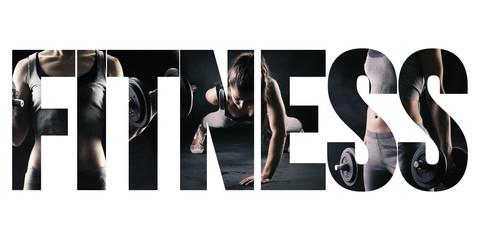Koncepcja fitness, zdrowego stylu życia i sportu