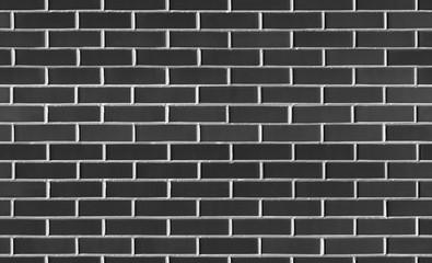 Cegła ściana Vintage bezproblemowa czarny tekstura do projektowania. Tło dla tekstu lub obrazu.