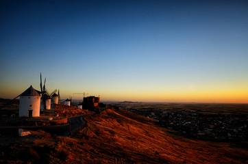 Consuegra is a litle town in the Spanish region of Castilla-La Mancha, famous due to its historical windmills, Rucio is the windmill's name