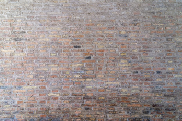 brick wall in old stone