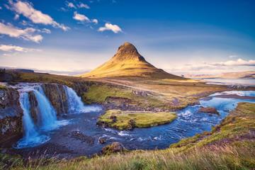 Kirkjufell Mountain, Snæfellsnes peninsula,Iceland