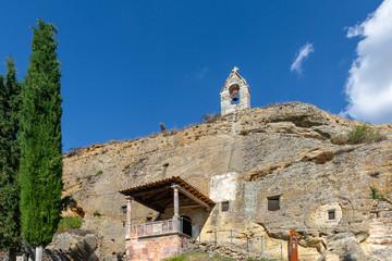 Rock Church of Saints Justo and Pastor, Olleros de Pisuerga, Palencia province, Spain