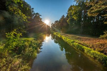 kanał Brdy, Bory Tucholskie