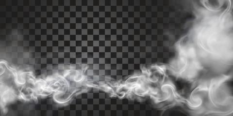 Dym unosi się w powietrzu