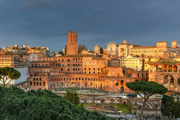 Trajan's Form - Rome, Italy
