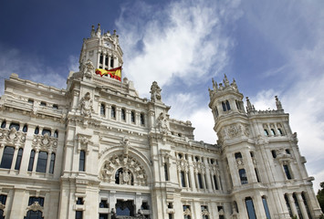 Town hall in Madrid. Spain