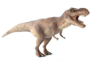 3d ilustracja tyrannosaurus rex dinosaur