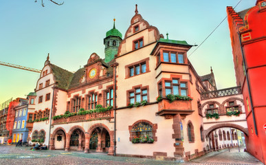Town hall of Freiburg im Breisgau, Germany