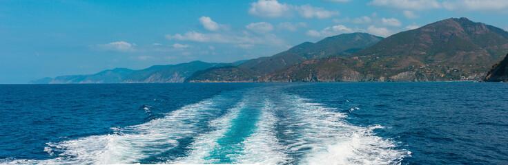 Levanto coast, Liguria, Italy