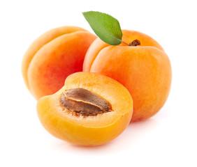 Świeża morelowa owoc w zbliżeniu