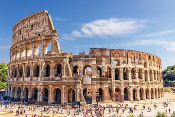 Rzymskie Koloseum w lecie