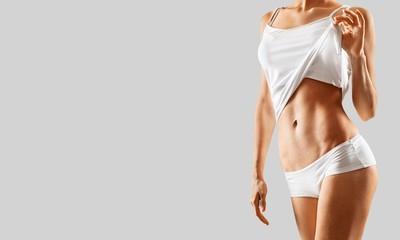 Intimate woman aesthetic abdomen beauty belly body
