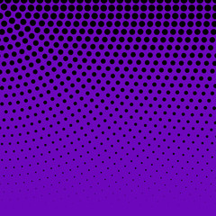 Halftone Background. Fade Dotted pattern. Digital Gradient. Pop-art style.