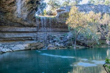 waterfall in texas
