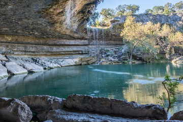 waterfall in texas