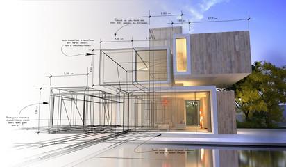Etapy projektowania luksusowej willi