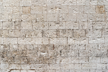 White stone bricks texture