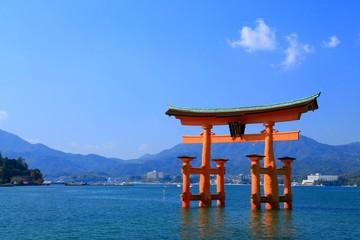 広島、宮島、厳島神社