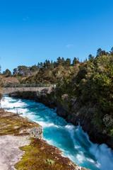 Huka Falls at Taupo, New Zealand