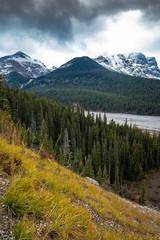Along the Columbia Icefield, Jasper National,Park, Alberta, Canada