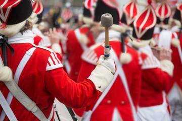 Karneval, Rosenmontag, Rosenmontagszug, Trommel