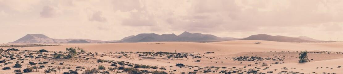 Park Przyrody Corralejo, Fuerteventura, Hiszpania
