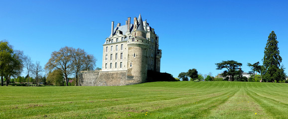 The Château de Brissac, one of the tallest castles in France known as the Giant of the Loire Valley. France