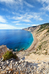 Platia Amos beach, Kefalonia, Greece,