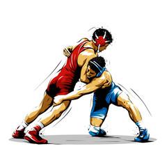 wrestling action 10