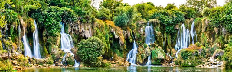 Kravica waterfalls on the Trebizat River in Bosnia and Herzegovina