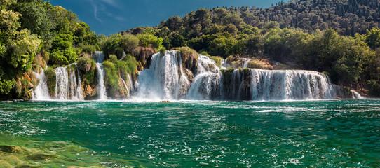 Park Narodowy Krka. Skradinski buk. Chorwacja