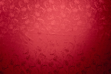 red tablecloth texture background, chinese new year background.