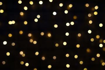 verschwommene Hintergrundbeleuchtung, Bokeh,  Weihnachten