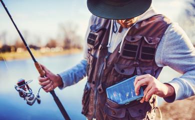 Fisherman. Sport, recreation, lifestyle