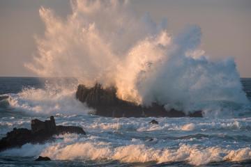 Ocean Storm Waves, Pacific Grove