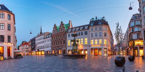 Ulica Stroget, Amagertorv, Kopenhaga, Dania