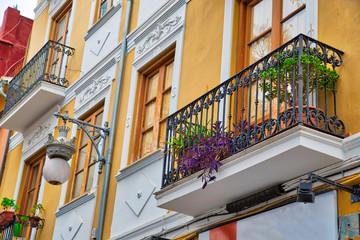 Spain, Valencia streets in historic city center
