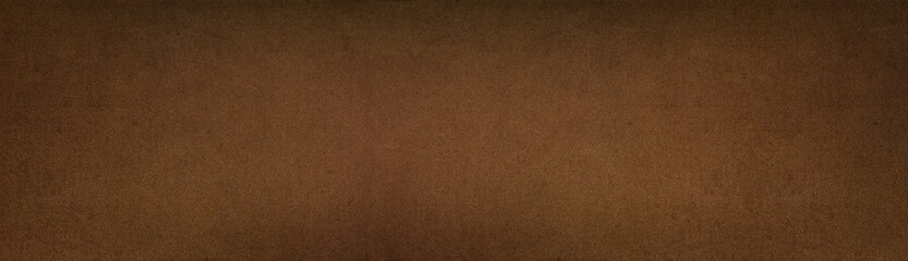 Bronze colored metal texture - wide panoramic vintage background