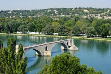 Pont Saint-Bénézet in Avignon in Südfrankreich