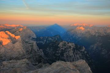 Slovenian magnificent Alps
