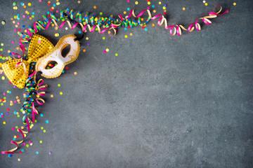 Kolorowe urodziny lub karnawał tło