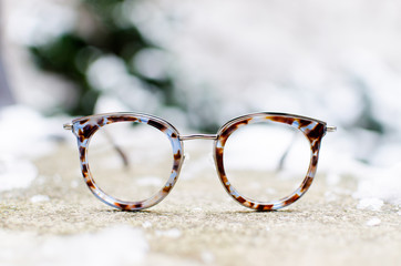 Trendy eyeglasses