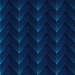 Zigzag blue seamless pattern