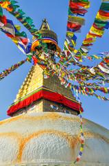 Bodhanath Stupa in Kathmandu valley, Nepal