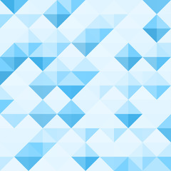 Abstract Background Pattern with triangle geometry - Seampless vector illustration.